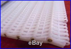 Intralox Plastic Conveyor Belt, Series 1600, Flush Grid, W 34-3/4 X L 190