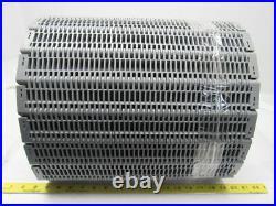Intralox Series 400 Grey Flush Grid Plastic Conveyor Belt 2 Pitch 15-11/16x18