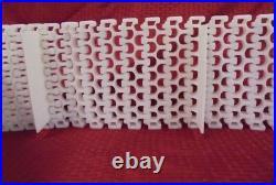 Intralox Side Flexing Conveyor Belt, 2200 Series, Radius Flush Grid, 8 W, 20' L