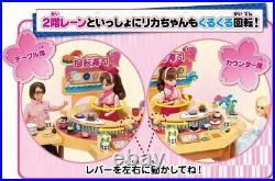 Licca Doll Kuru-kuru Conveyor Belt Sushi Shop Playset Takara Tomy Licca-chan