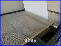 M&R UV Vitran Dryer 62w x 124L new conveyer belt installed, Runs Great