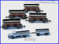 Marklin Z-scale 82379 Coal Transport Set with truck and coal conveyor belt kit