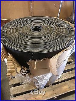 Maxi-Lift Extreme Duty Black Rubber Bucket Elevator Belt 4-Ply 3/8 x 22 x 200