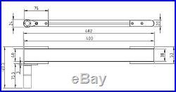 Miniature small mini conveyor belt 60mm wide X 1M long 24VDC motor NEW