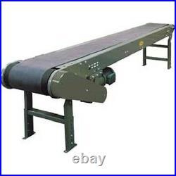 NEW! 12'1L Hytrol Model TL Heavy Duty Slider Bed Conveyor, 24W Belt