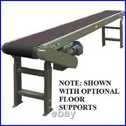 NEW! 16'L Slider Bed Conveyor 115V/1PH, 24W Belt