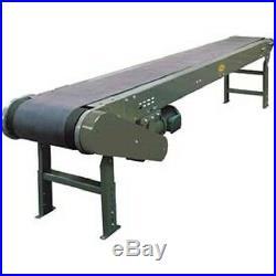 NEW! 17'1L Hytrol Model TL Heavy Duty Slider Bed Conveyor, 36W Belt
