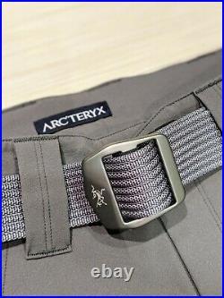 NEW Arc'teryx LEAF Combat Pants Gen 2 Medium Wolf Gray with Conveyor Belt Military