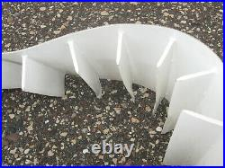 NEW Dorner 22-Cleated Belt 2200 Conveyor Continuous Loop White 6 Wide # 24-061