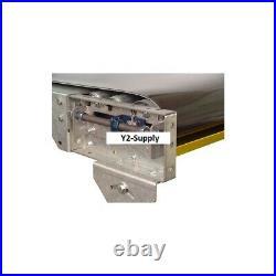 NEW! Omni Metalcraft Powered 12W x 20'L Belt Conveyor without Side Rails