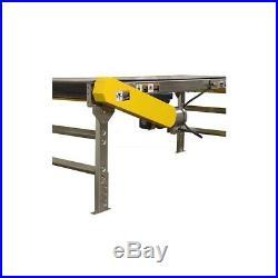 NEW! Omni Metalcraft Powered 12W x 50'L Belt Conveyor with 6H Side Rails