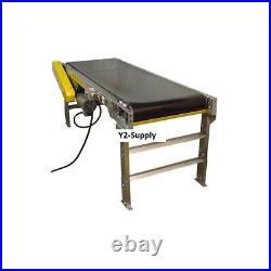 NEW! Omni Metalcraft Powered 24W x 40'L Belt Conveyor with 6H Side Rails