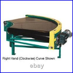 NEW! Omni Power Turn Belt Conveyor 12W 180 Degree Left Curve 36 Degree Radius