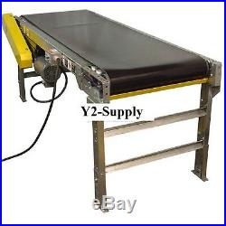 NEW! Powered 24W x 30'L Belt Conveyor without Side Rails