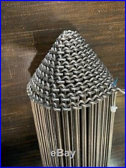 -NEW- Roundup / AJ Antunes Metal Conveyor Belt Approximately 13-2 X 12 3/4
