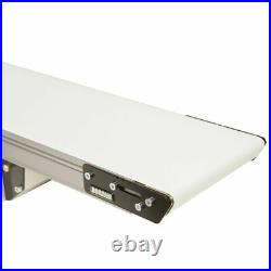 NEW! Small-Medium Parts Handling Conveyor Cleated Belt 5' x 8 23 Lb. Cap