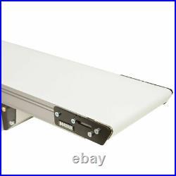 NEW! Small-Medium Parts Handling Conveyor Standard Belt 5' x 8 70 Lb. Cap
