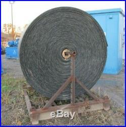 New 36 1100' Gravel Coal Conveyor Belt 1/4 Top Layer Belting Sand 3Ply 3734IPL