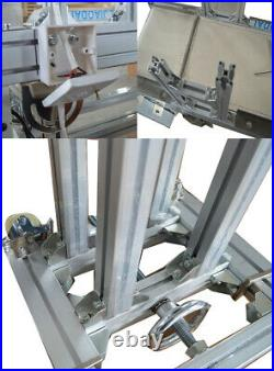New Arrival TECHTONGDA 110V 5911.8 Heat Resistant White Canvas Belt Conveyor