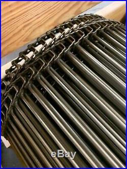 New Cambridge Cam-Grid Stainless Steel Conveyer Belt T304-34-008 90 Feet