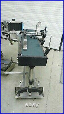 New Jersey Machine Njm Sa401-1852 Variable Speed Conveyor With 12 X 68 Belt
