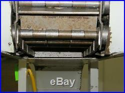 New London Engineering 3 HSB Incline Chip Conveyor 6 Belt 52 Discharge 14 Fpm