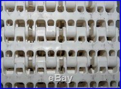 New Plastic Roller Chain Conveyor Belt 104 Length 4 Width