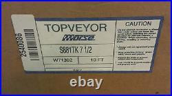 New Topveyor by Morse S881 TK 7-1/2 10ft Steel Tab Conveyor Belt Chain