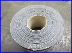 No Name 2 Ply 8 3/4 X 190' Black Rubber Conveyor Belt Belting Textured Surface