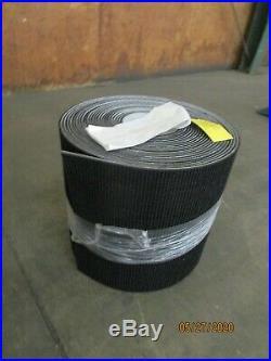 No Name Rtp2 Rt2-17-75 17 X 75'ft Black Rubber Conveyor Belt Belting
