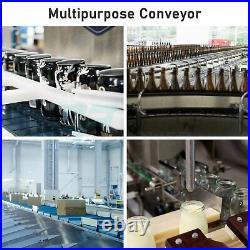 PVC Belt Conveyor Machine 90w power Industrial Transport Motorized 59 inch