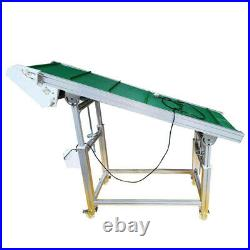 PVC Belt Lifting Conveyor Workshop Assembly Line Sorting Belt Conveyor