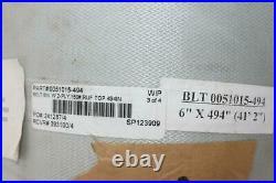Pack of 1 0051015 Conveyor Belt 2-Ply 6 x 494