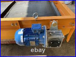 Paladin conveyor magnet for rock crusher concrete electric driven suspended