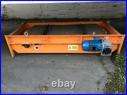 Paladin magnet conveyor 30x60 belt, powered by a Weg 3 phase motor