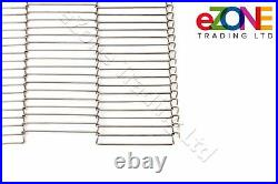 Pizza Oven Conveyor Belt Chain 16 Zanolli Synthesis 06/40VG/E 400C Wire Mesh