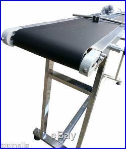 Power Slider Bed PVC Belt Conveyor 59 x 7.8 Hot Sale, New Best