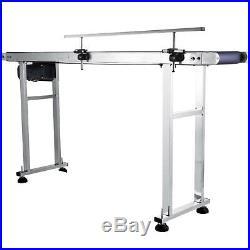 Power Slider Bed PVC Belt Electric Conveyor Anti-Static Code Machine 59''X 7.8'