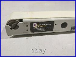 QC Industries IS125 Flat Belt End Drive Conveyor 2 Inch W x 101 L