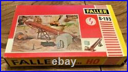 Rare Faller Train Model Ho Decor Conveyor Belt B-195 With Motor