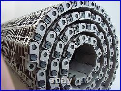 Rexnord 7705/6 Rubber Mat Top Conveyor Chain Belt 23 X 6
