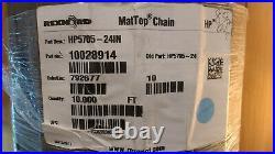 Rexnord HP5705-24 MatTop Chain Conveyor Belt, 24 Wide, 1.5 Pitch, 10' Long