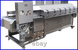 Roti Naan Machine Automatic Conveyor Belt Oven Tandoori Oven Roti Nan Chapati