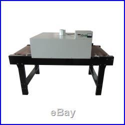 Silk Screen Printing Conveyor Tunnel Dryer 25.6 x 8.2ft. Belt 220V 7200W SEA