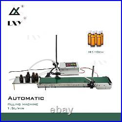 Small Automatic Conveying Liquid Filling Machine Automatic Conveyor Belt Single