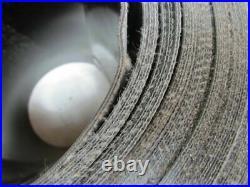 Smooth Top Material Handling Conveyor Belt 10x200' Long. 090 Thick Black PVC