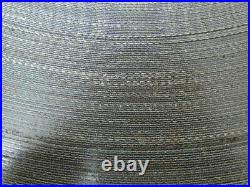 Smooth Top Material Handling Conveyor Belt 7x500' Long. 085Thick Black PVC