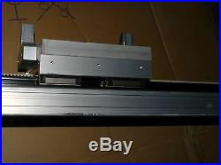 THK GL15+2000L BELT DRIVEN SINGLE AXIS LM ACTUATOR 2000MM With MPL-B330P-MJ22A NEW