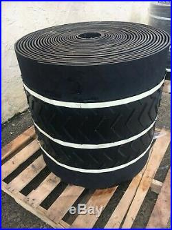 Three Ply Conveyor Belt With Center V Cleat Industrial Quality 120' x 30