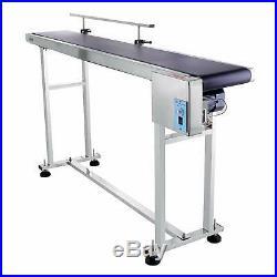 Top-Grade Electric 59x7.8 PVC Belt Conveyor Machine Speed Adjustable Automatic